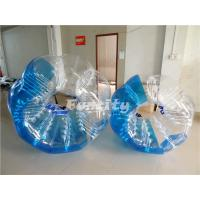 Large Colorful PVC Soccer Zorbz Big Exciting Flexible For Adult Manufactures