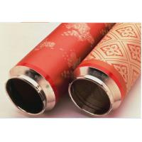 Quality Fabric Printing Rotary Nickel Screen , Accurate Textile Screen Printing Mesh for sale