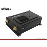 Buy cheap COFDM FDD Wireless Ethernet Radio 2W UAV / Robot IP Transceiver with Two Way from wholesalers