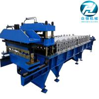 Roof Panel Glazed Tile Roll Forming Machine / Former Machine with 5.5kw motor Manufactures