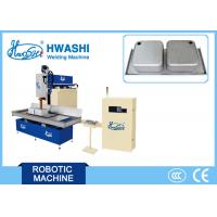 CNC Kitchen Sink Seam Welder Machine , Inset Sink Automatic Seam Welding Machine Manufactures