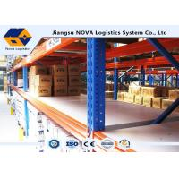 Customized Adjustable Pallet Warehouse Racking System For High Capacity Storage Manufactures