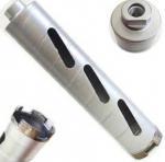 Super Hard Carbide Tip Small Diamond Drill Bits , Diamond Core Drill Bits For Glass Manufactures
