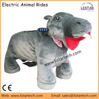 Mechanical Power Animal Rides Walking Animal Costume Kids Games Toy Zippy Pets for Rent Manufactures