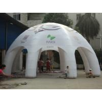 Quality Colorful 0.45mm PVC Tarpaulin Inflatable Party Tent In Spider Legs For Sport for sale