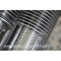 China Continuous helical welded heat exchanger fin fube SA213-TP304H NPS 2'' X SCH80S on sale