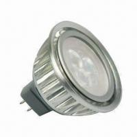 12V AC/DC LED Spotlight, 220/240lm Luminous Flux/2,750 to 3,250/5,000 to 7,000K Color Temperature Manufactures