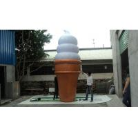 Cone Shape Custom Inflatable Ice Cream Products for Playing Center Manufactures