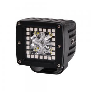 3.2 Inch 12w RGB Offroad Led Work Light , 12V 24V LED Work Light ATV SUV Mine Boat Lamp 4WD Manufactures
