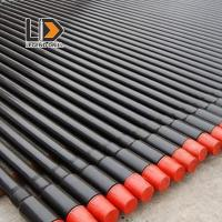 Round Shape Threaded Drill Rod 1525 - 6110mm For Rock / Mining Drill Machinery Manufactures