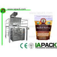 China Three Phase 2.5KW Rotary Liquid Filling Machine Speed 45 Packs/min on sale