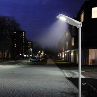 1800LM Remote Control Street Light 15 Watt PV Module IP65 With MPPT Controller Manufactures