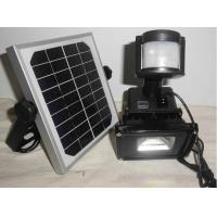 China High Lumen Solar Powered Motion Activated Flood Lights / Solar Led Security Light on sale