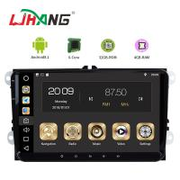 Android 8.1 Car Dvd Player For Volkswagen Canbus Radio GPS 3G WIFI USB Map Manufactures