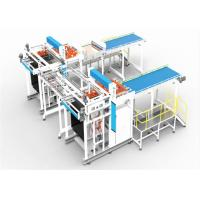 Buy cheap Horizontal Transfer Type Can Depalletizer Machine Weight 10ton In Blue Color from wholesalers