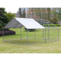 4Lx3Wx2H m Chicken Run Coop/ Animal Run/Chicken House/Pet House/Outdoor Exercise Cage Coop for Hen Poultry Dog Rabbit