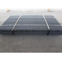 Vibrating Screen Wire Mesh Eavy Impact Resistance , High Carbon Steel 4mm Square Weave Wire Mesh
