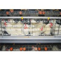 Silver Hot Galvanized Steel Cage Battery Cage Layer Breeder Chicken Cage Coop for Poultry & Livestock Farm Manufactures