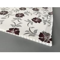 High Intensity PVC Ceiling Boards For Commercial , Pvc Ceiling Panels Square Shape Manufactures