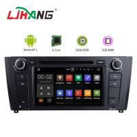 Car Multimedia BMW GPS DVD Player With Stereo Radio Support GPS Android 7.1 Manufactures