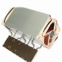 China CPU Cooler with Aluminum Base, Aluminum Fins Assembly, 4 Heat Pipes, Used for AMD, Heat Sink on sale