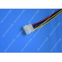 Quality Hard Drive HDD SSD Cable Harness Assembly , Molex to Dual SATA Power Splitter for sale