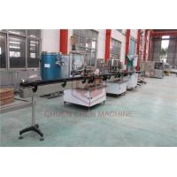 China 1500BPH Plastic Bottle Rinsing Water Filling And Capping Machine With CNP Pump on sale