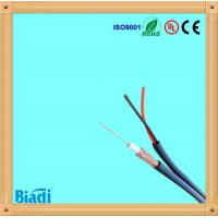 cable coaxial rg59 siamese with power cable for satellite Manufactures
