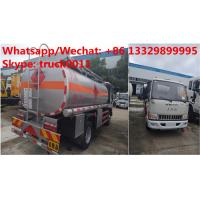 Factory sale high quality and lower price JAC 4*2 LHD 5500L oil tanker fuel transport truck diesel tank truck Manufactures