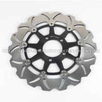 Wave Aluminum Floating Motorcycle Brake Disc Rotor For Street Bike Parts Manufactures