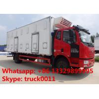 FAW brand 40,000 day old chick transported truck for sale, factory sale best price FAW 4*2 LHD baby chick van truck Manufactures