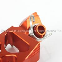 Quality Ktm SX 144 150 EXC 200 250 Dirt Bike Passenger Foot Pegs Aluminum Alloy Orange Footpegs For Sale for sale