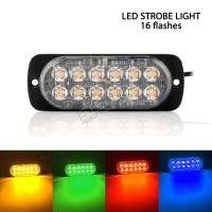 4.3 24W LED strobe emergency light Manufactures