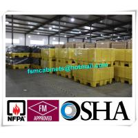 Buy cheap SYSBEL PE Spill Containments For Oil Tank, 4 Drum PE Spill Pallet And Spill Deck from wholesalers