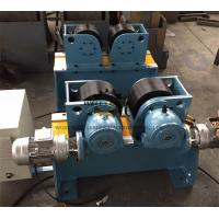 Bolt shift Adjustment Pipe Turning Rolls , Digital Speed Display Pipe Welding rotator Manufactures