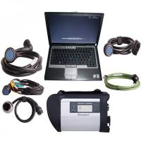 V2012.11 MB SD Connect Compact 4 Mercedes Diagnostic Tool with DELL D630 Laptop Support Offline Programming Manufactures
