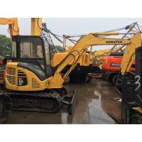 Quality 12V Voltage Used Earth Moving Equipment Komatsu PC55MR With Rubber Track for sale