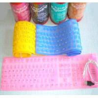 Silicone Flexible FULL SIZE PC MAC Keyboard USB Christmas Gift Manufactures