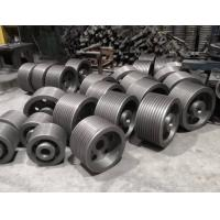 Accurate Size Grey Iron Castings Wheel Castings With Smooth Surface Finish Painting Manufactures