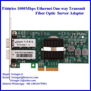 1000Mbps Ethernt PCI Express x4, Single Transmit Port Server NIC Cards Manufactures