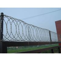 Flat Wrap Coil Customized Razor Wire BTO-18 Hot Dipped Galvanized Manufactures