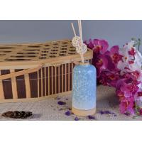 Glazed Aroma Empty Diffuser Bottles And Reeds 580ml Ceramic Candle Holder Manufactures