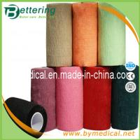China 10cm Hand tearing Non Woven self adhering elastic bandage on sale