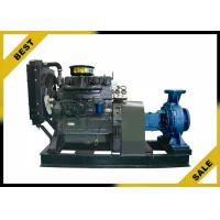 Centriffugal Diesel Well Pump , High Efficiency Mobile Diesel Pump Wheel Mounted Manufactures