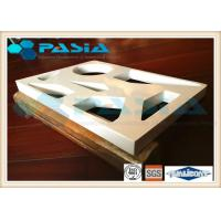 Various Shapes Aluminium Honeycomb Ceiling Panels PVDF Fluorocarbon Powder Coated Manufactures