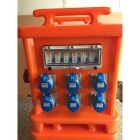 Buy cheap Movable Portable Power Distribution Box, Plastic 3 Phase Distribution Box from wholesalers