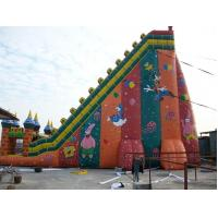 Paradise Park Recreation Facilities Inflatable Water Sports , Large PVC Inflatable Slides Manufactures