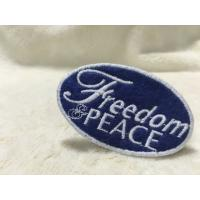 Cool Uniform Label Custom Embroidered Patches Felt Patches For Clothing Flat Surface Manufactures