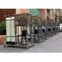 20ft Containerized RO Water Treatment System / Fiber Glass Purification Water Plant Manufactures