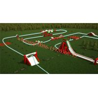largest inflatable obstacle course inflatable 5k hung-ho run Manufactures